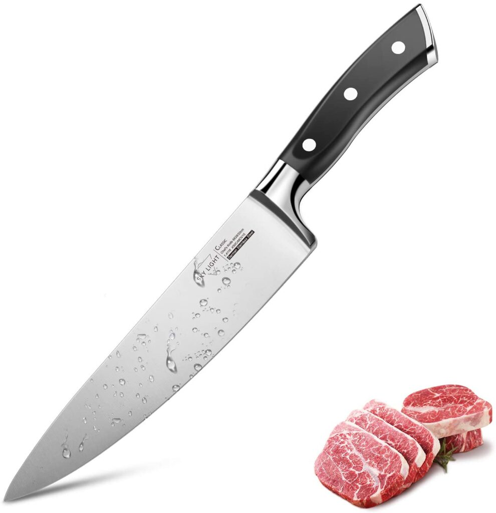 Skylight Chef knife - knife with best grip.