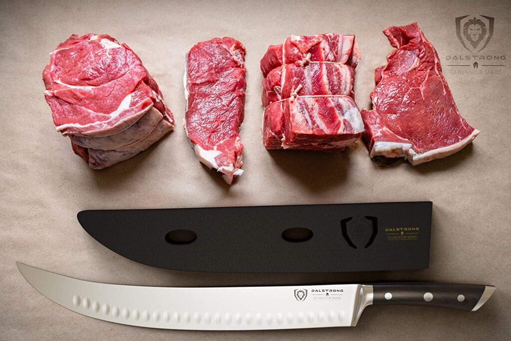 dalstrong knife for cutting steak
