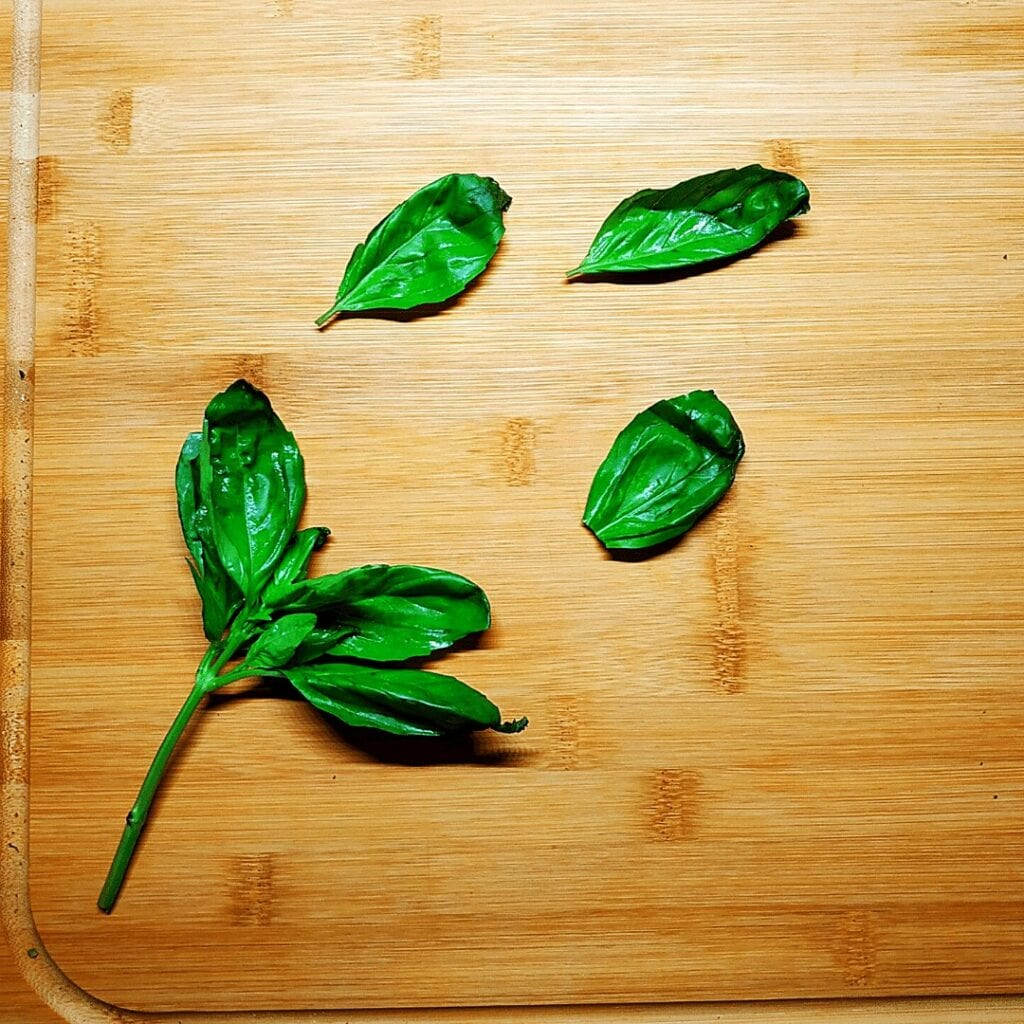 Fresh Basil is the #4 on our list of spices. Use it on pizza and always buy fresh
