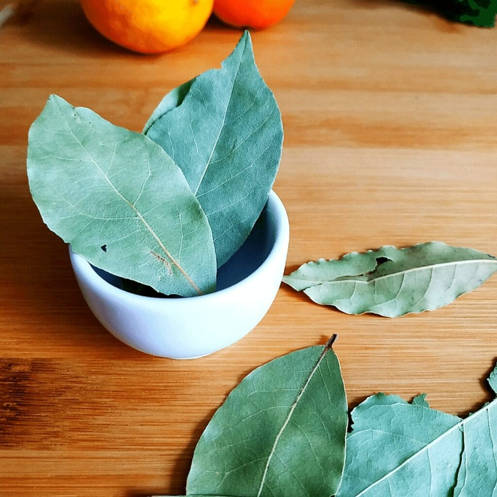 #17 on the list of spices is Bay Leaf, or Bay Leaves. Use dried and remove before serving