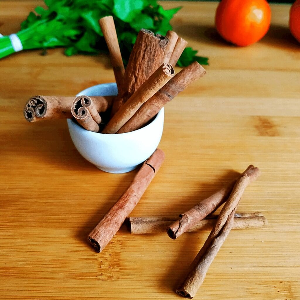 Whole cinnamon sticks with many inner layers taste the best. #7 on our List of Spices