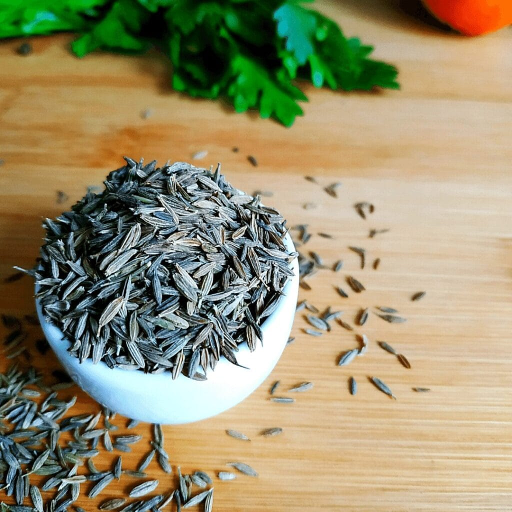 Cumin looks similar to Caraway seeds but tastes way different. They are not a substitution, be careful
