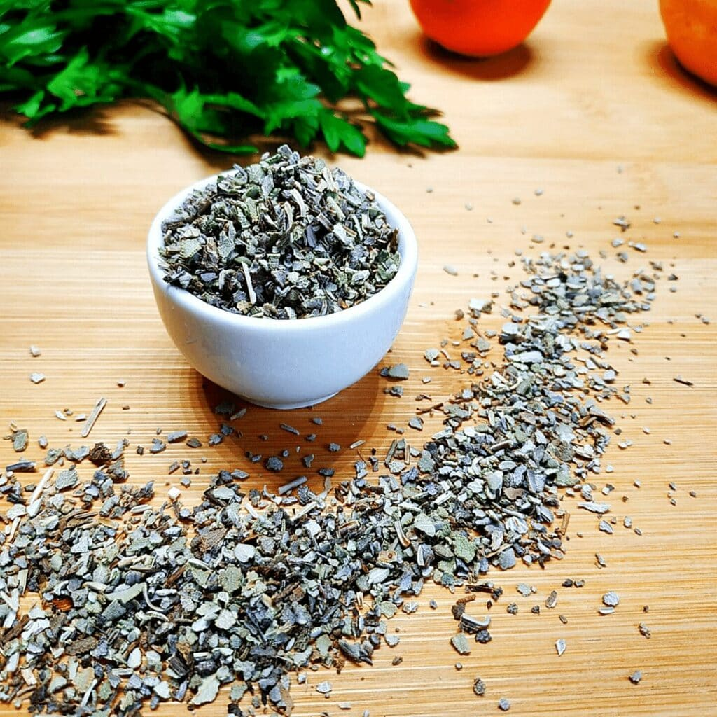 #23 on the List of Spices is Rubbed Sage