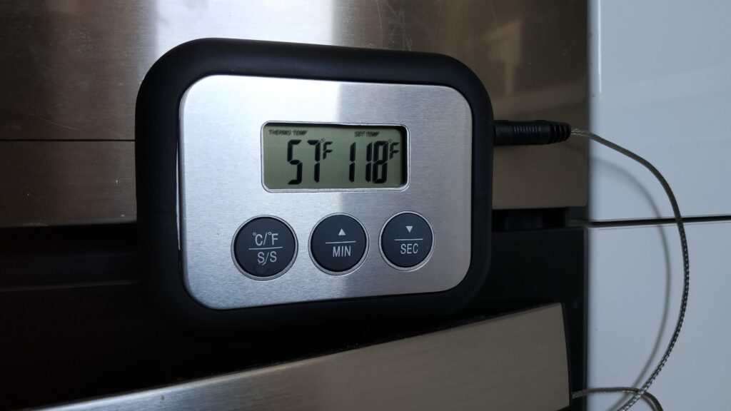 use a meat thermometer with alarm function for perfect reverse sear results