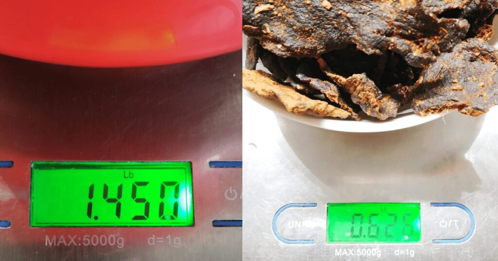 How Much Jerky From a Pound of Beef