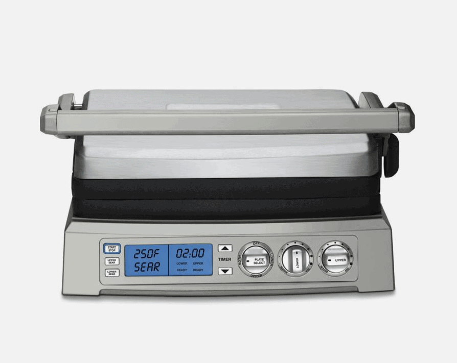 Most versatile electric grill is the Cuisinart Griddler Elite